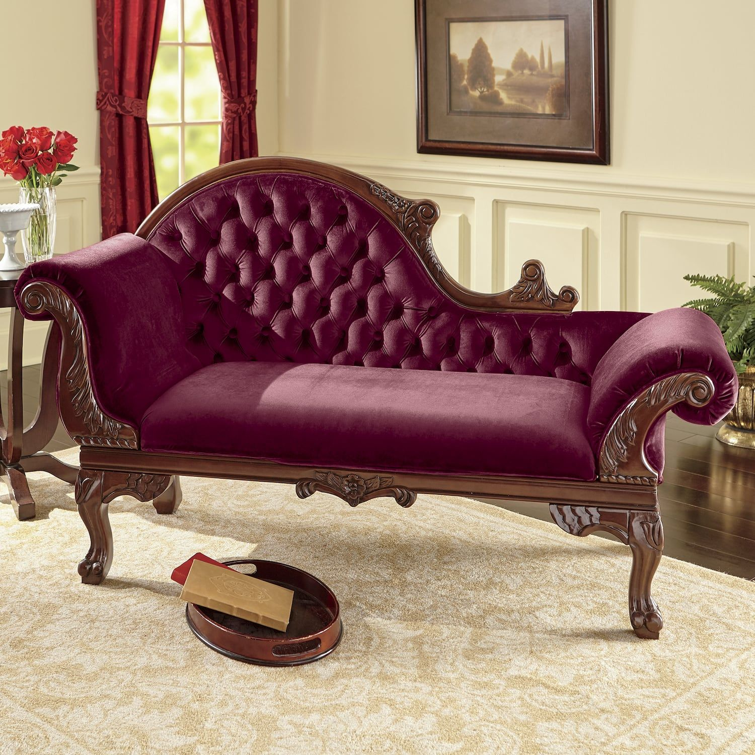 Victorian Era Chaise Montgomery Ward Classic Home Decor Victorian Furniture Classic Furniture