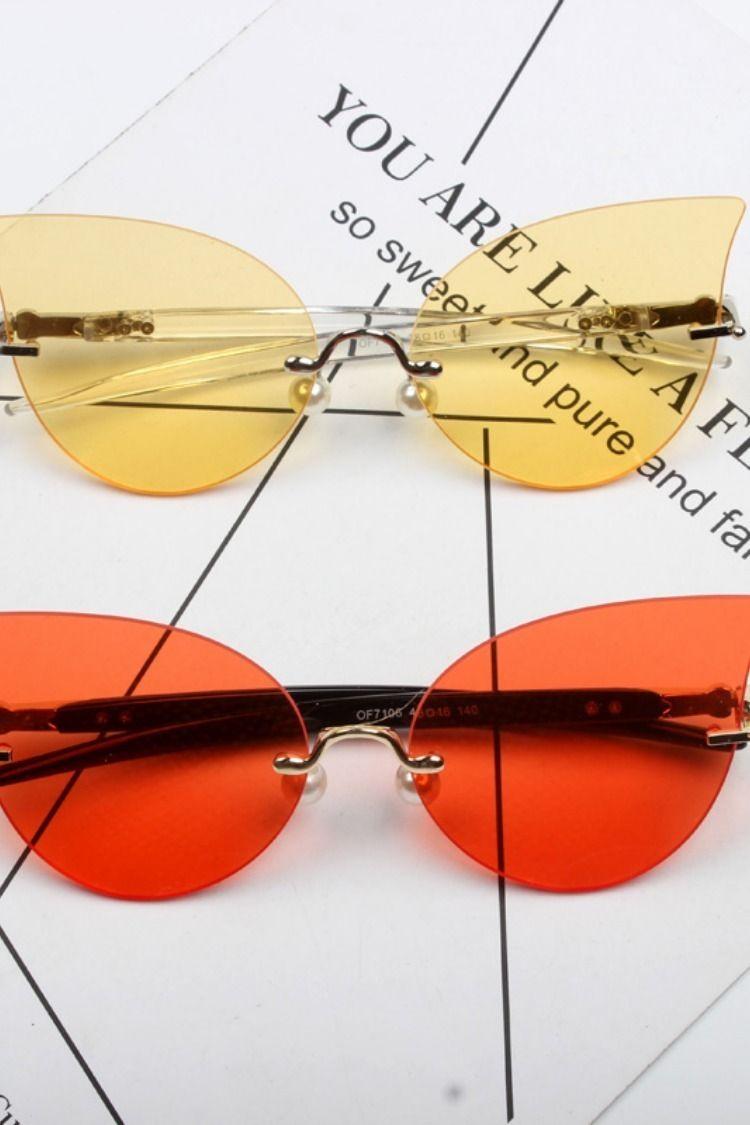 a2c4db172a3 CAT EYE OVAL STYLE BLUE LIGHT RADIATION ANTI UVA SUNGLASSES  eyewear   eyewearlover  eyewearthailand