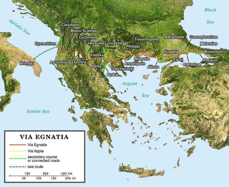 Via Egnatia - Wikipedia