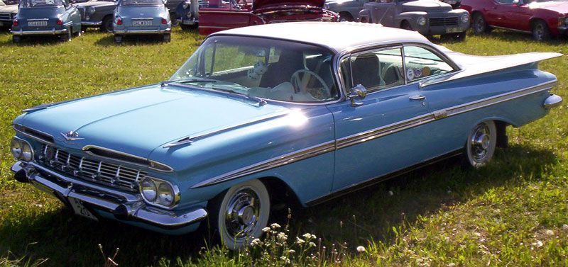 Chevrolet Impala 1959 Love Them Fins Con Imagenes