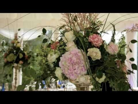 An Overview Of Wedding Flowers For A Marquee In Mount Juliet Estate Thomastown