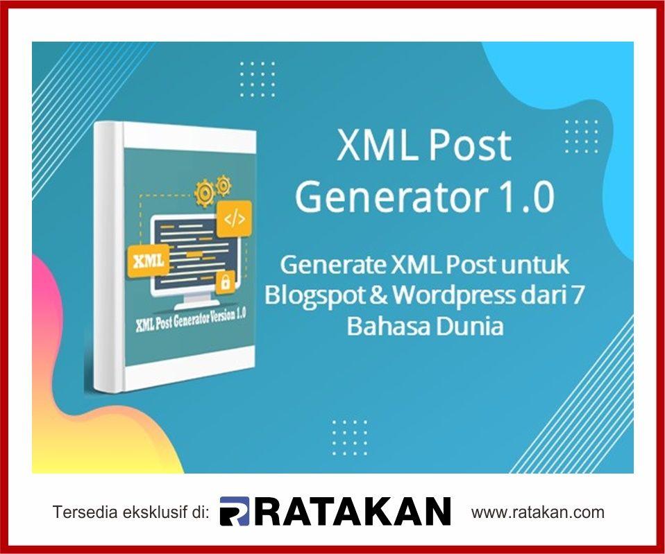 Xml Post Generator Version Generator Blog Posting
