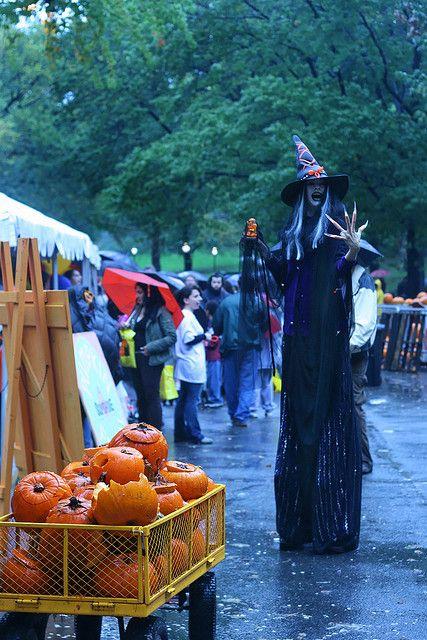 pumpkin festival, new york city central park