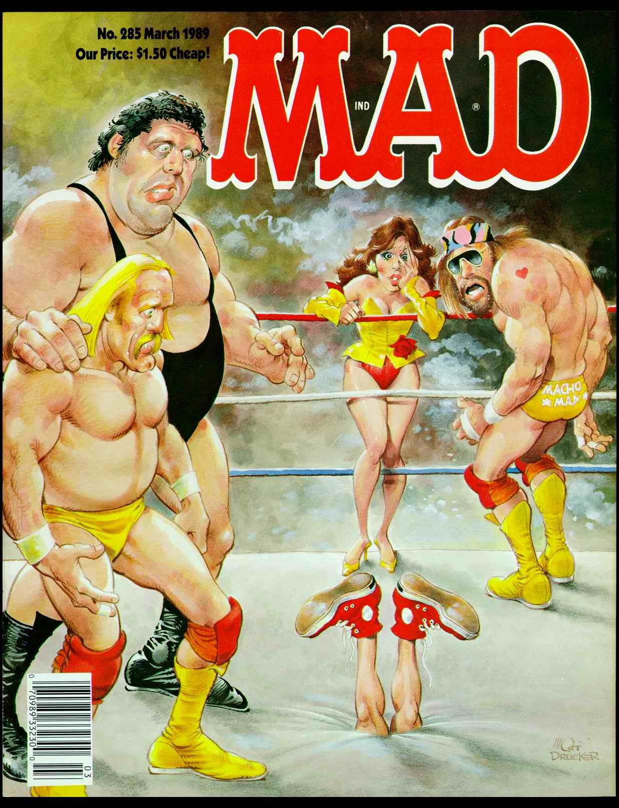 Mad Magazine Welcome To Mad Magazine Mad Magazine Andre The Giant Wwf