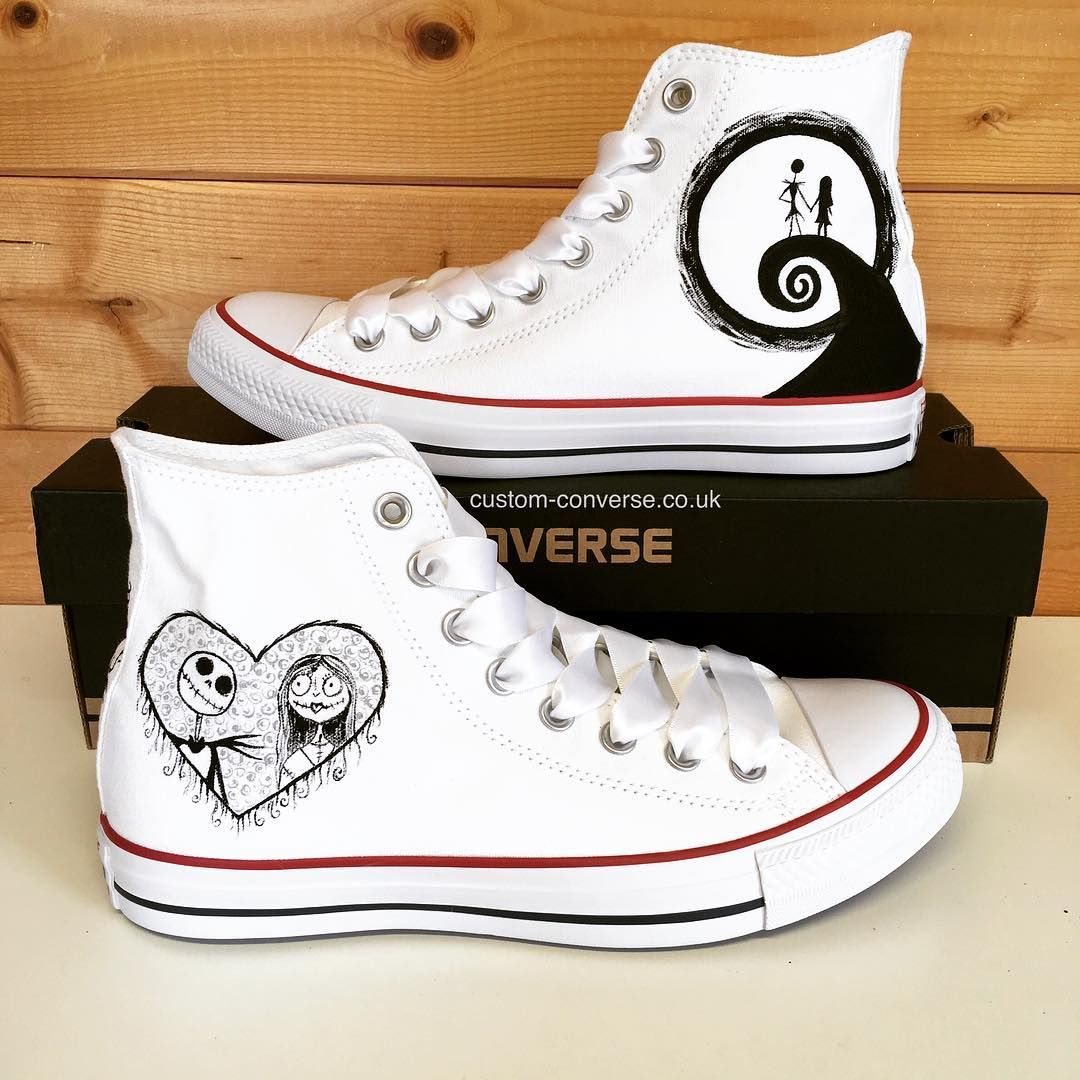 Details about personalised terminator custom converse all star mens womens high tops name