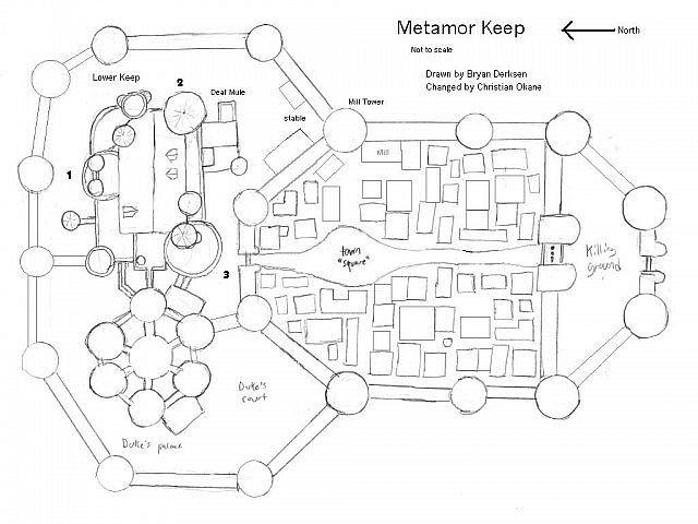 Blueprints For Medieval Castles