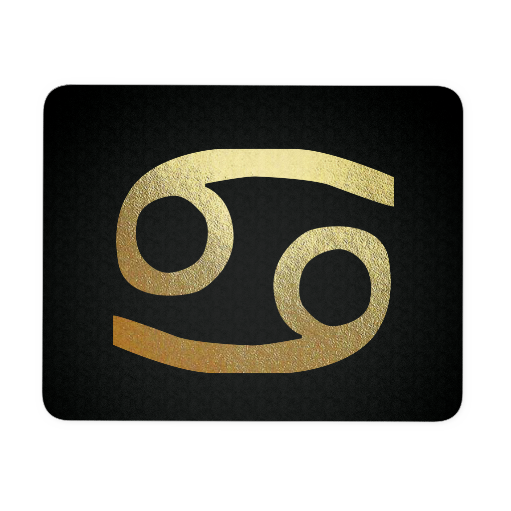 Cancer Gold Sign Mousepad