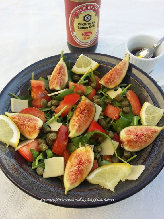 #Salade #Roquette #Figue au #Soja http://www.gourmandiseassia.com/archives/2015/08/07/32454178.html