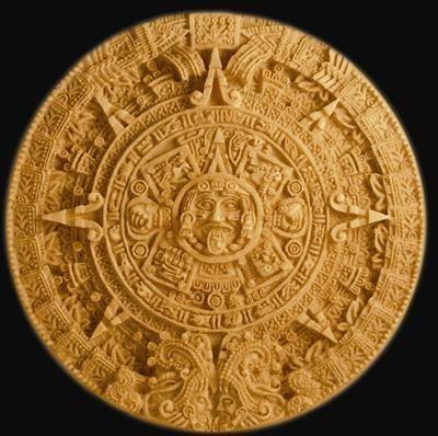AZTEK GÜNEŞ TAKVİMİ Xiupalli (günlerin kaydı) ve Tunapoalli (yazgıların kaydı).  Belirli deliklerle araya sokulan milleriyle,güneş saati olarak hizmet vermiştir.