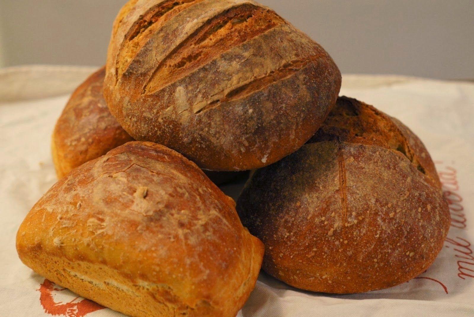 Kaikkea ihanaa elämässä: Ranskalainen maalaisleipä
