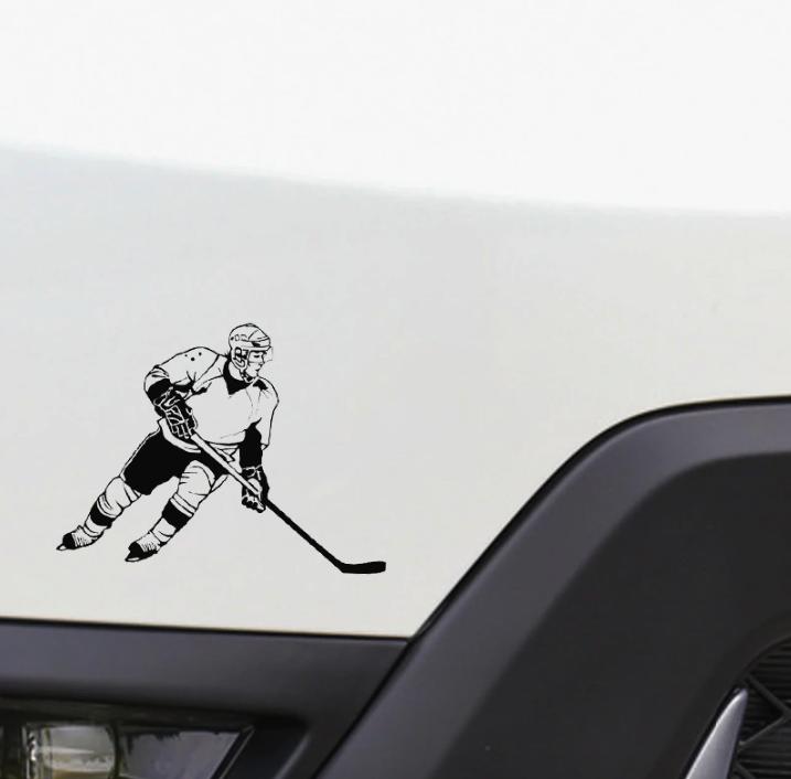 Hockey Sticker On You Car Sportesi Wall Stickers Hockey Car