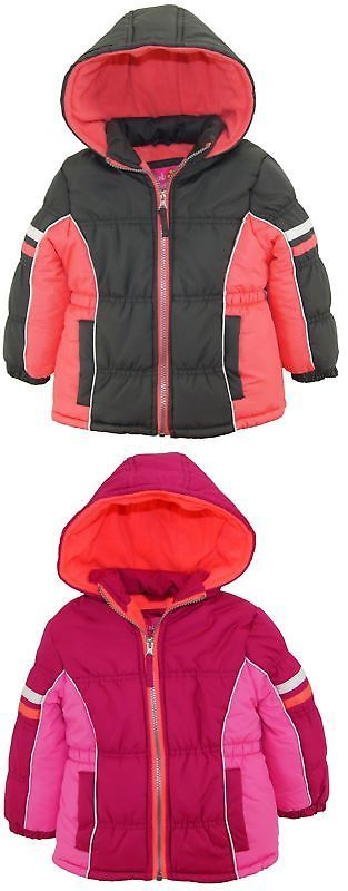 515c04311c1 Pink Platinum Toddler Girl Colorblock Active Winter Coat Puffer Jacket |  Outerwear 147202 | Pinterest | Coat, Winter Coat and Jackets