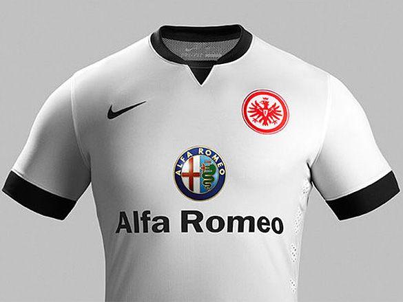 Eintracht Frankfurt Away Kits 2014/15 Nike