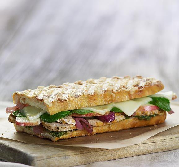 Winner of the panera bread Sandwich Showdown Roasted
