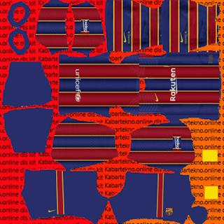13+ Fc Barcelona Kit 2020/21 Dls