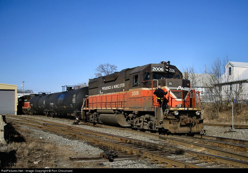 RailPictures.Net Photo: PW 2006 Providence and Worcester Railroad EMD GP38-2 at Cumberland, Rhode Island by Ron Chouinard