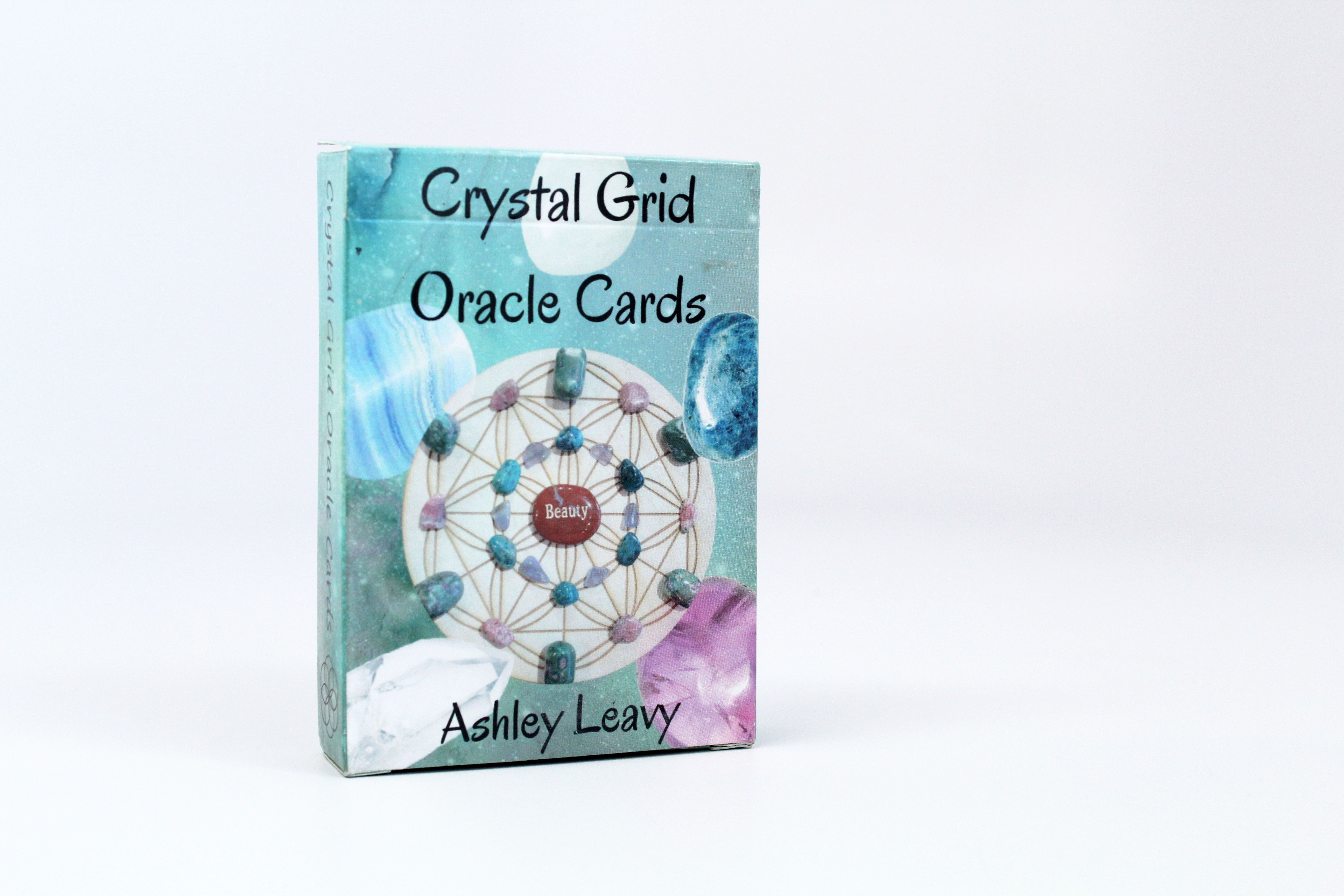 Crystal Grid Oracle Cards | Crystal Healing Resources