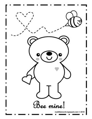 happy valentines day! | Valentine coloring pages ...