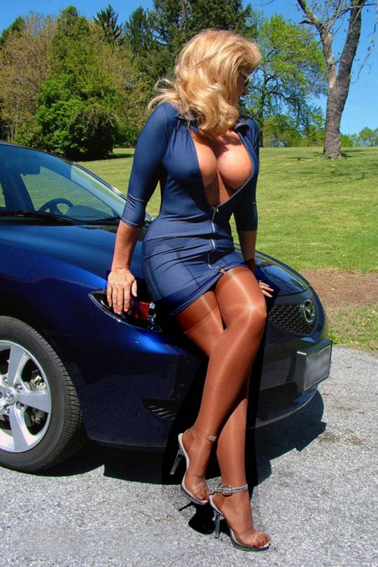 Mature breast womens