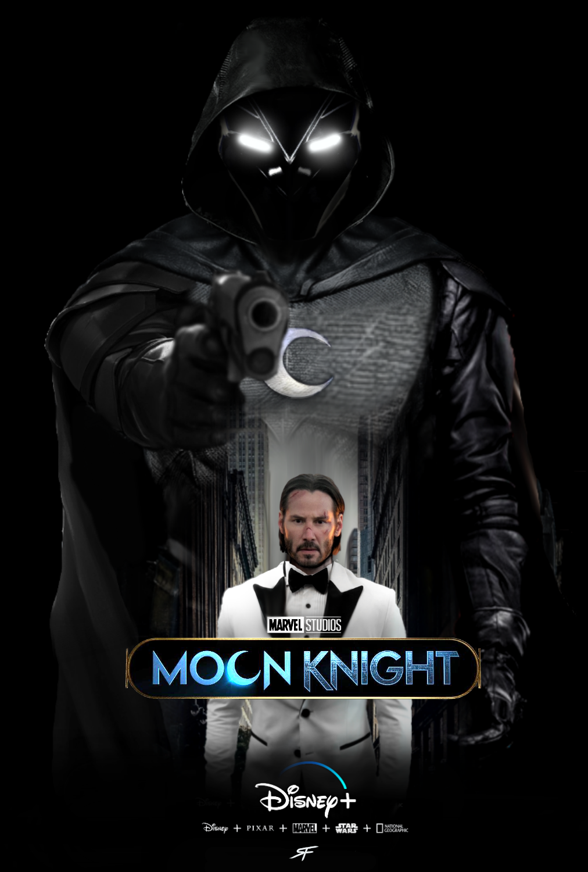 Moon Knight Disney Plus Poster Fan Made By Sebastiansmind On Deviantart Disney Plus Moon Knight Disney Marvel
