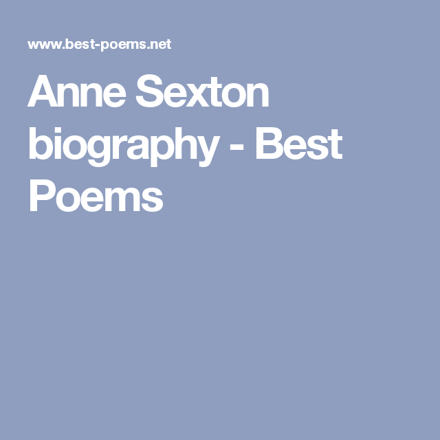 Anne Ton Biography Best Poems