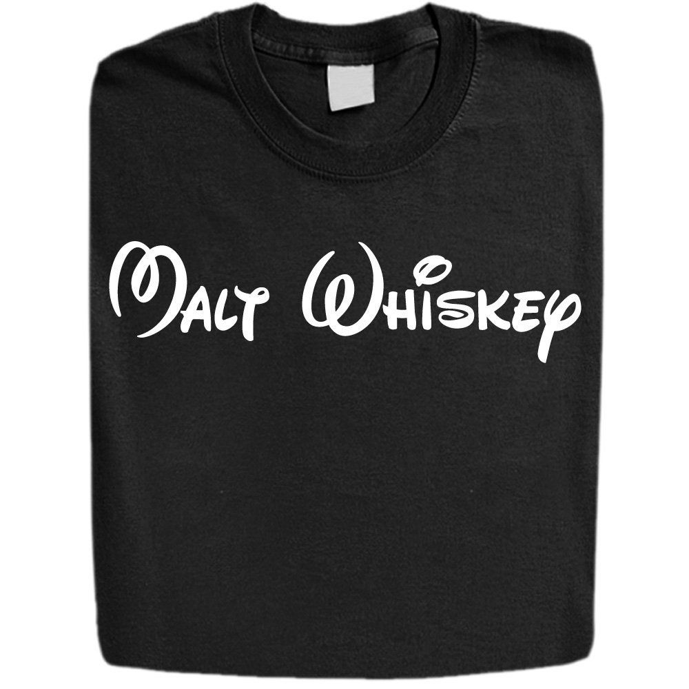 da142907 Stabilitees Malt Whiskey in Disney Characters Alcohol Related Funny  Drinking T Shirts