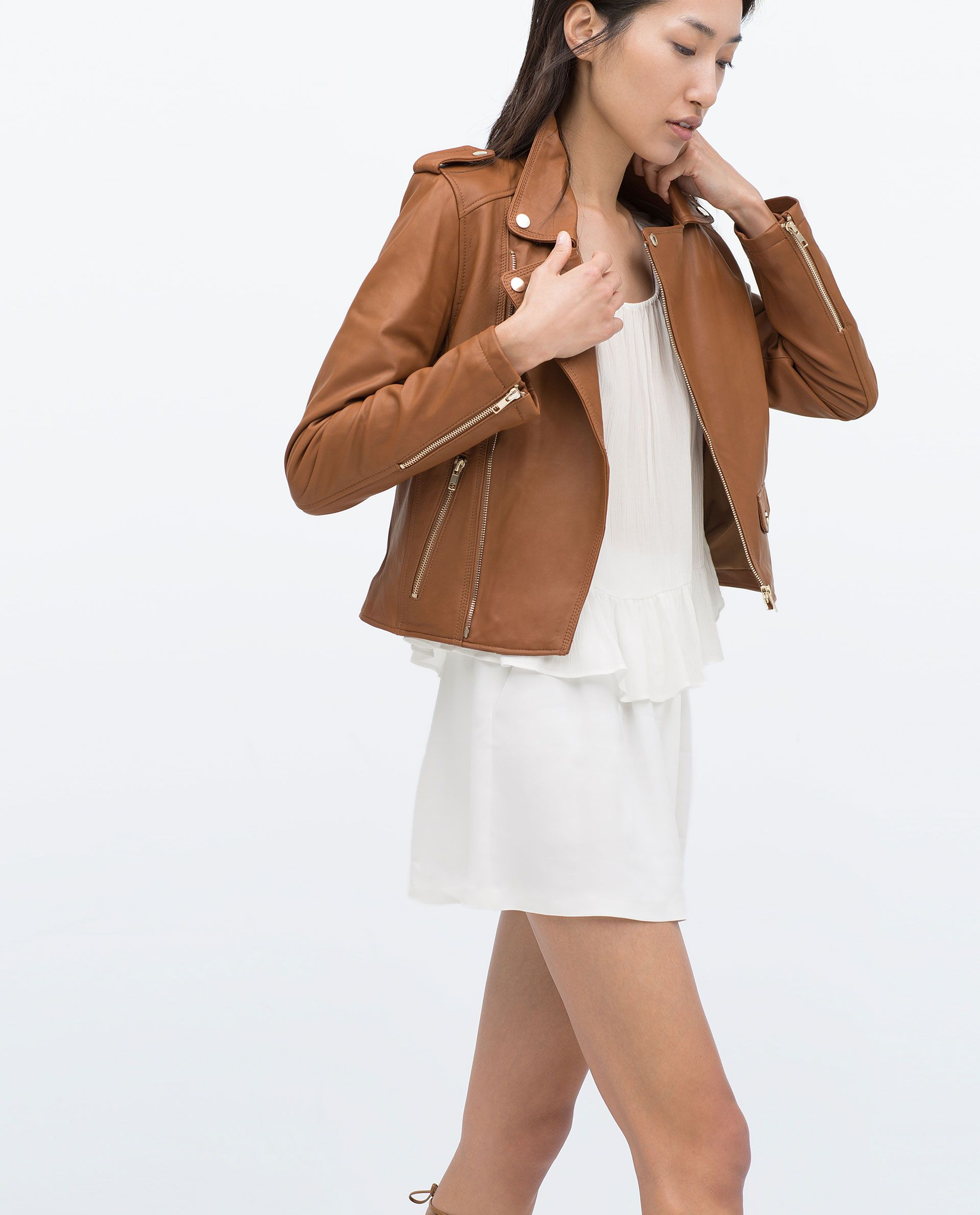 Image 4 of LEATHER JACKET from Zara Jackets, Jackets for