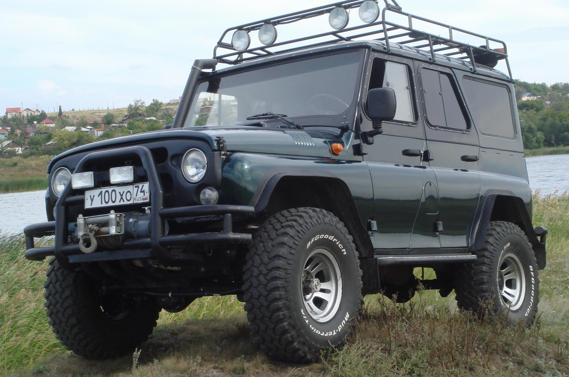 UAZ Hunter specs Джип, Автомобили