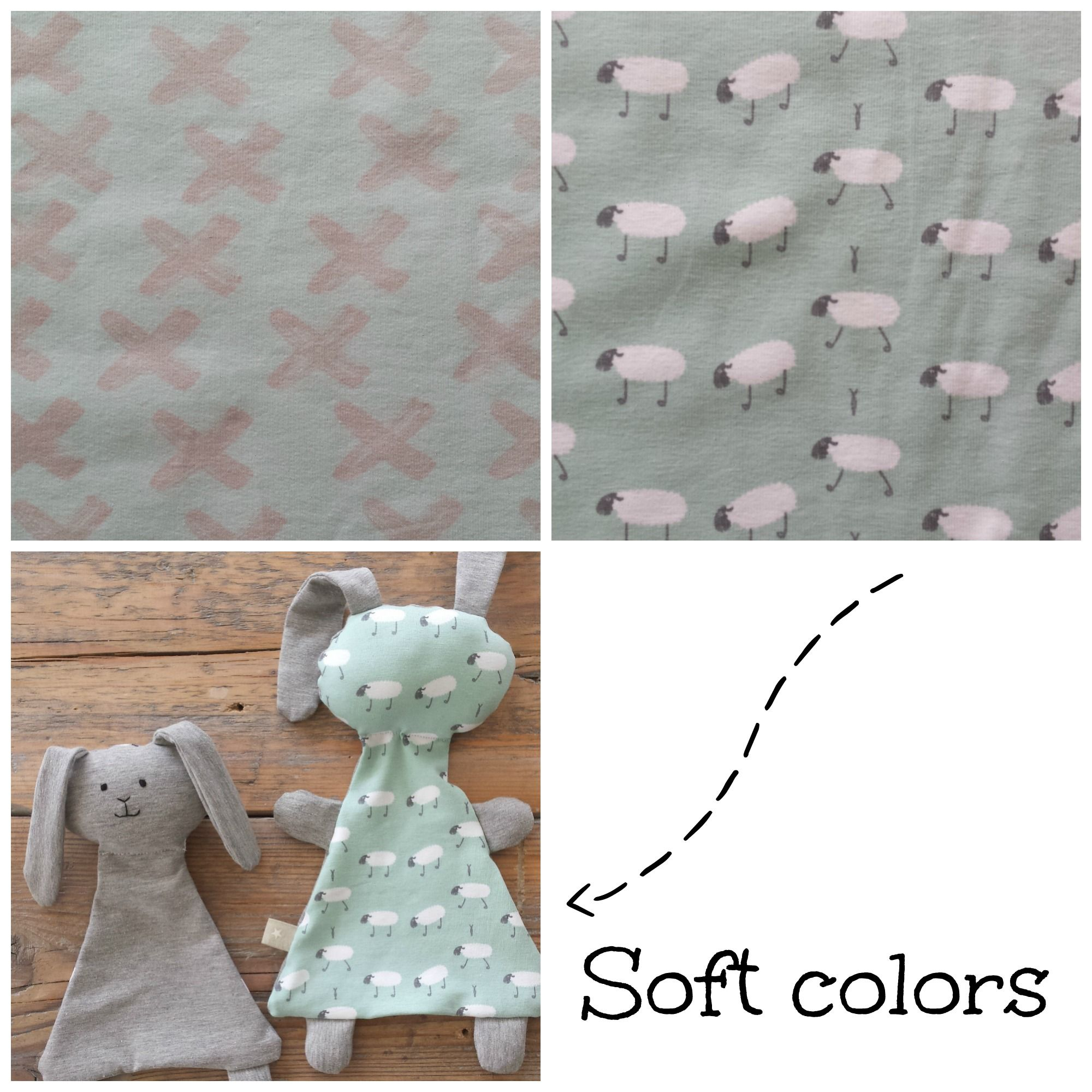 Ukkie in Style soft colors - baby