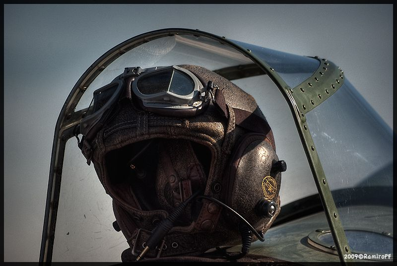 great #hdr shot of a fighter pilots helmet  I love this shot.