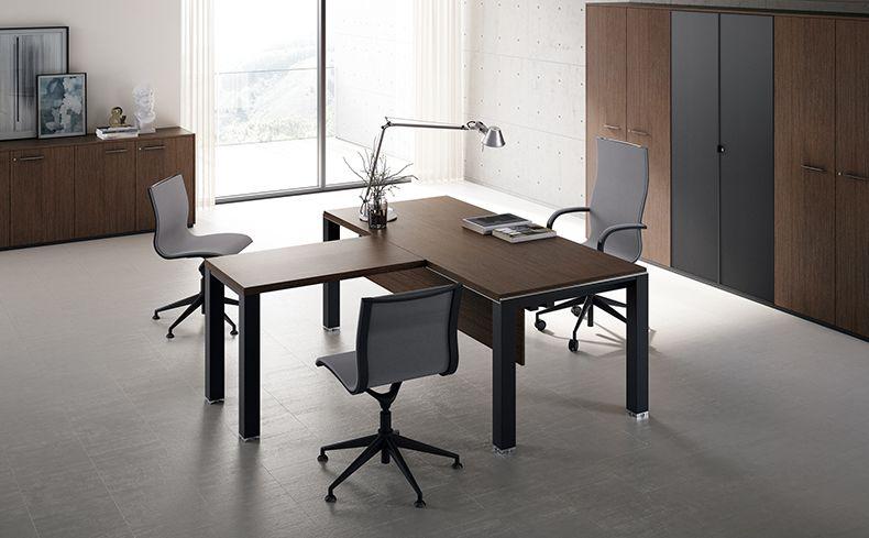 Asset Executive Desk. Esencia de un diseño limpio que pone atención en los detalles y se conjugan naturalmente! #MoberTeAyuda