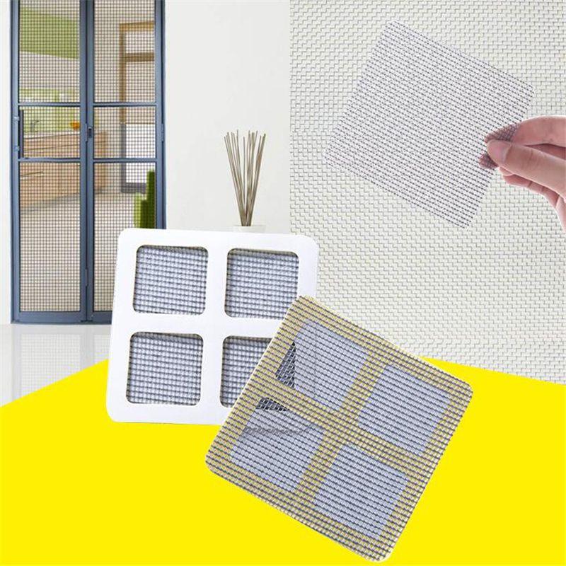 3PCS Window and Door Screen Repair Patches Adhesive Net Window Home New