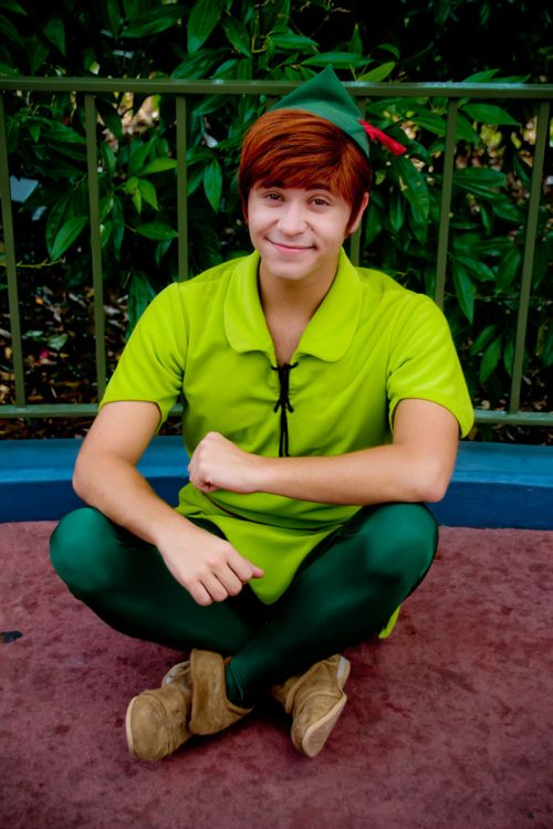 Where to Find Peter Pan at Walt Disney World     outside the Pirates of the  Caribbean ride 6e92282645e
