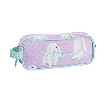 Pencil Case, Mackenzie Lavender Bunny | Lavender bunny ...