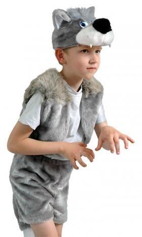 Новогодний костюм волка для мальчика своими руками фото 364