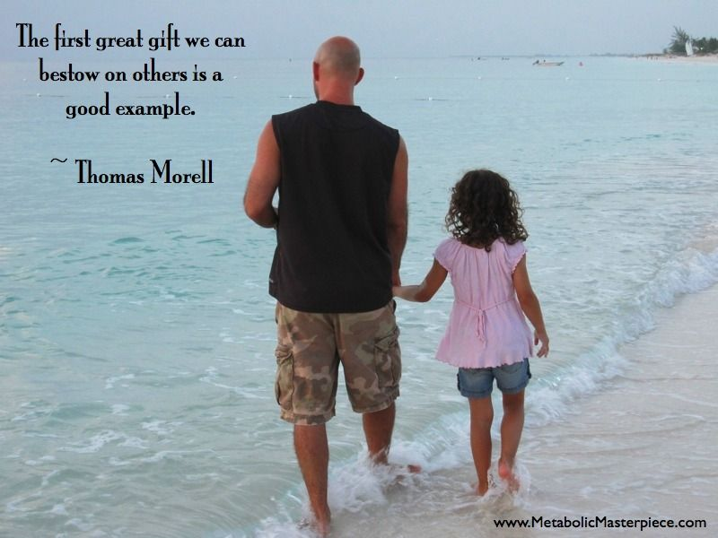 Daddy Leaving Footprints With His Girlso True Thomas Morell Quotes About FamilyMotivational