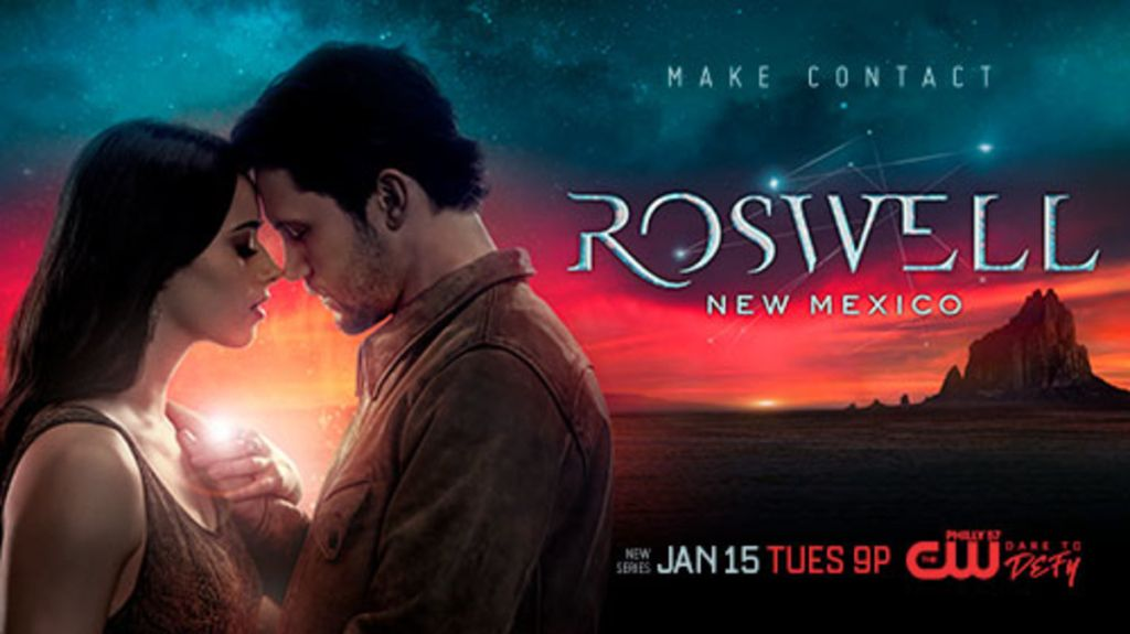 Roswell New Mexico Premieres January 15 On The Cw Roswell New Mexico New Mexico Movies By Genre