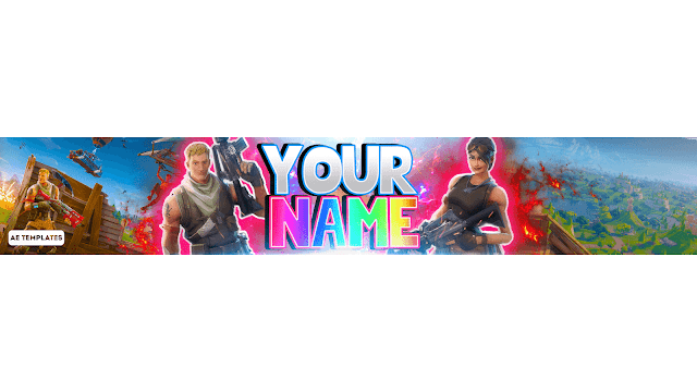 Top 5 Fortnite Banner Template Ae Templates In 2020 Youtube