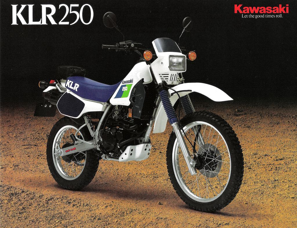 All sizes | 1987 KLR250 Brochure Front | Flickr - Photo Sharing!