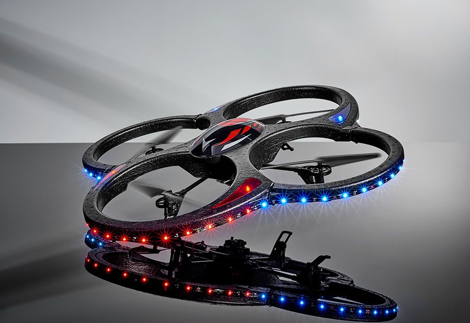 Video Camera Drone With Led Lights At Sharper Image Gifts Ideas For