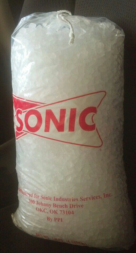 Did You Know You Can Buy A Bag Of Sonic Ice When You Order Just Request A Bag Of Ice And For 2 19 Prices Could Sonic Ice Tonsillectomy Recovery Kids Surgery