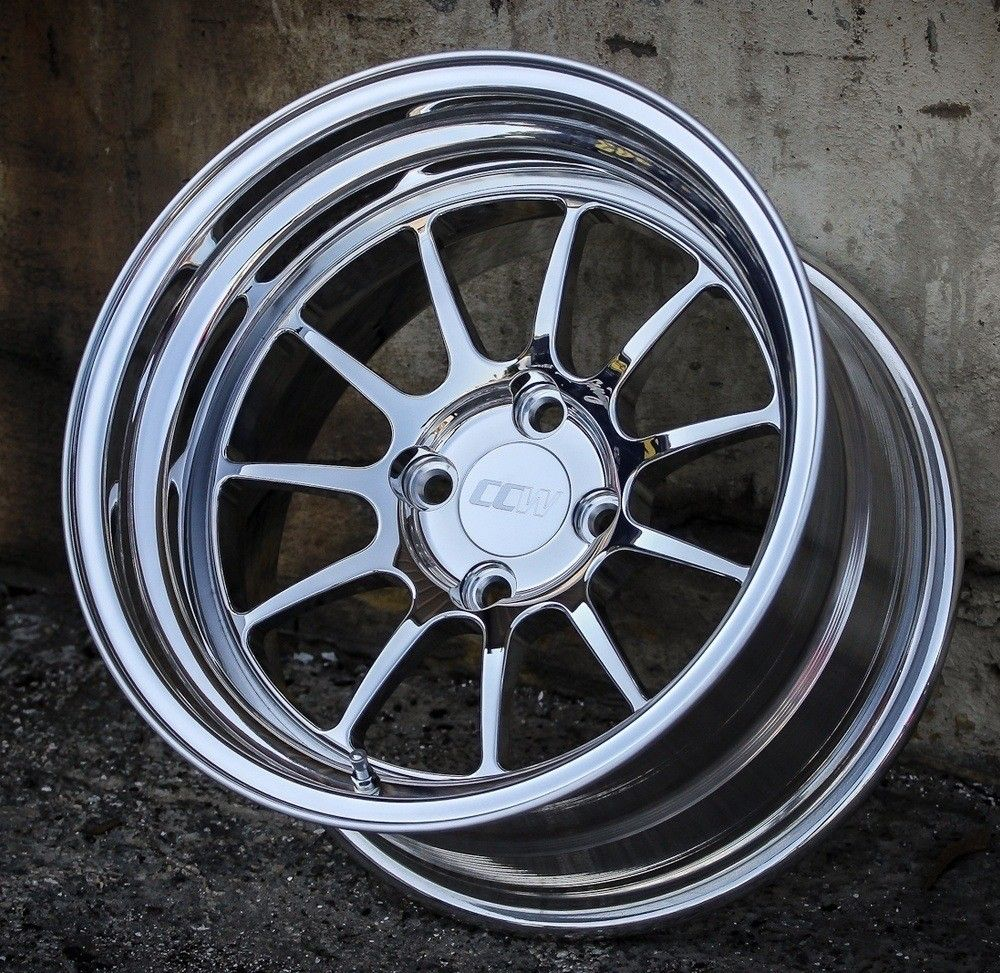 Our wheels are a great option for those who want the ccw look at an amazingly aggressive price