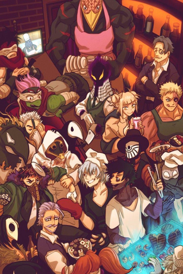 Villains Hero Wallpaper My Hero My Hero Academia Episodes