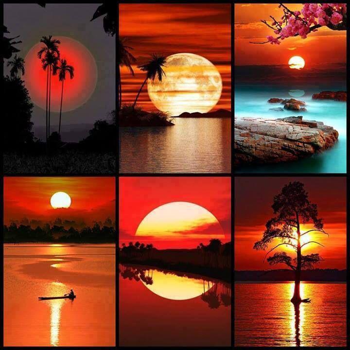 Magici tramonti in giro per il mondo