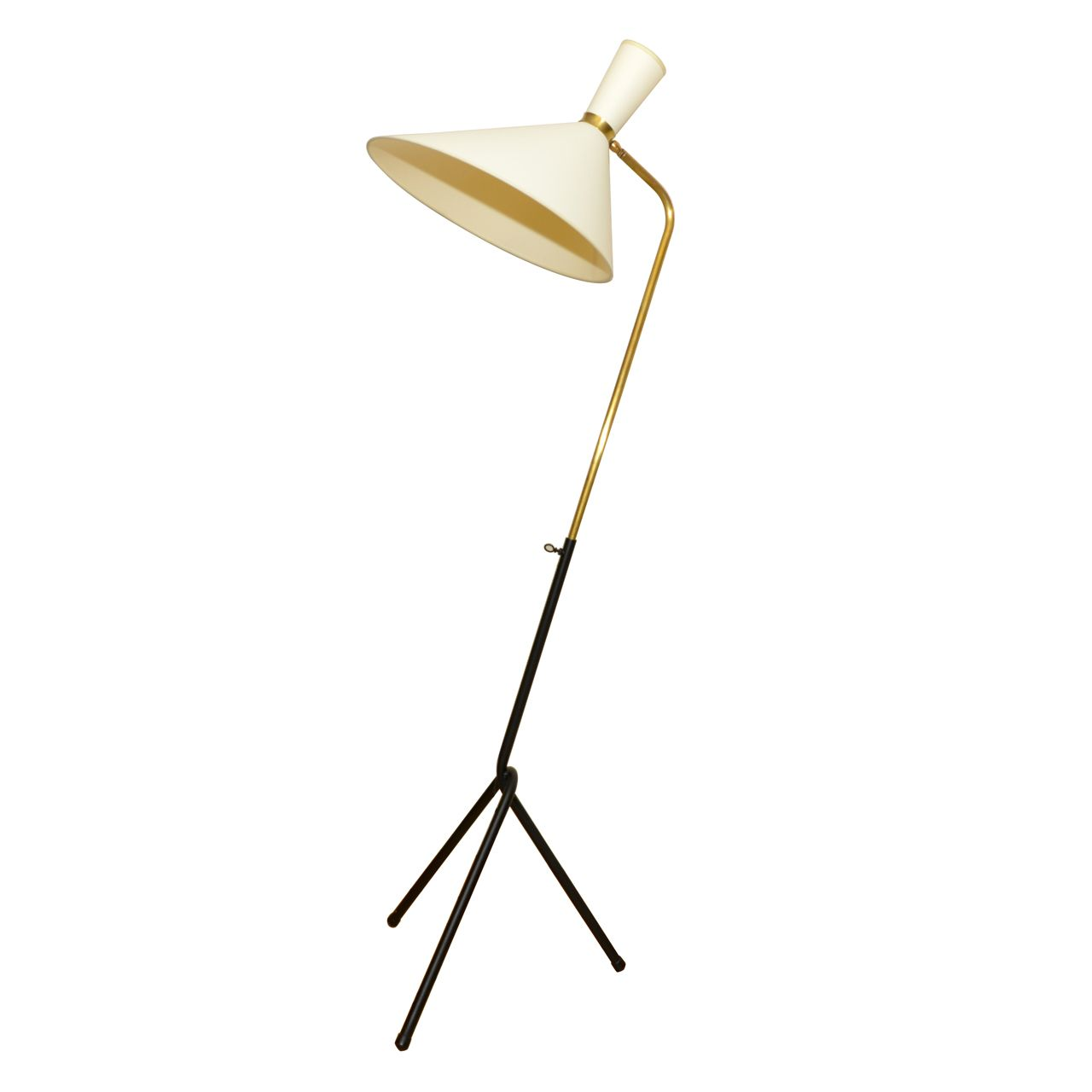 1stdibs 1950s Floor Lamp By Jacques Biny Explore Items From 1 700 Global Dealers At 1stdibs Com Vintage Floor Lamp Floor Lamp Floor Lamp Table