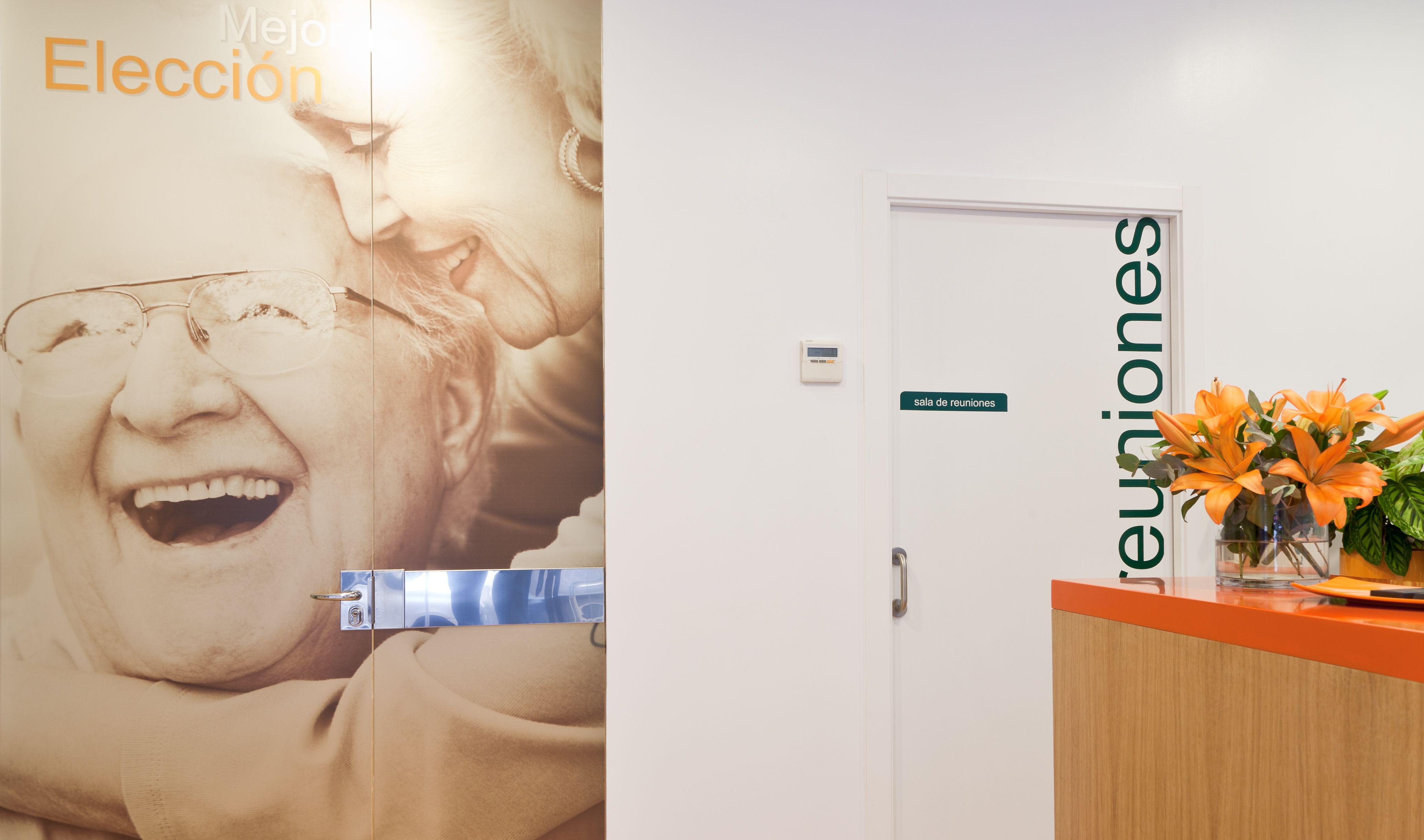 Recepción Centro de día #recepcion #interior #design