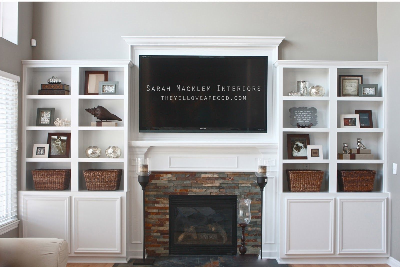Photo of The Yellow Cape Cod: Extreme Fireplace Makeover