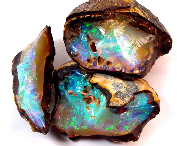 Yowah nut opal - a boulder opal from the Yowah mines of