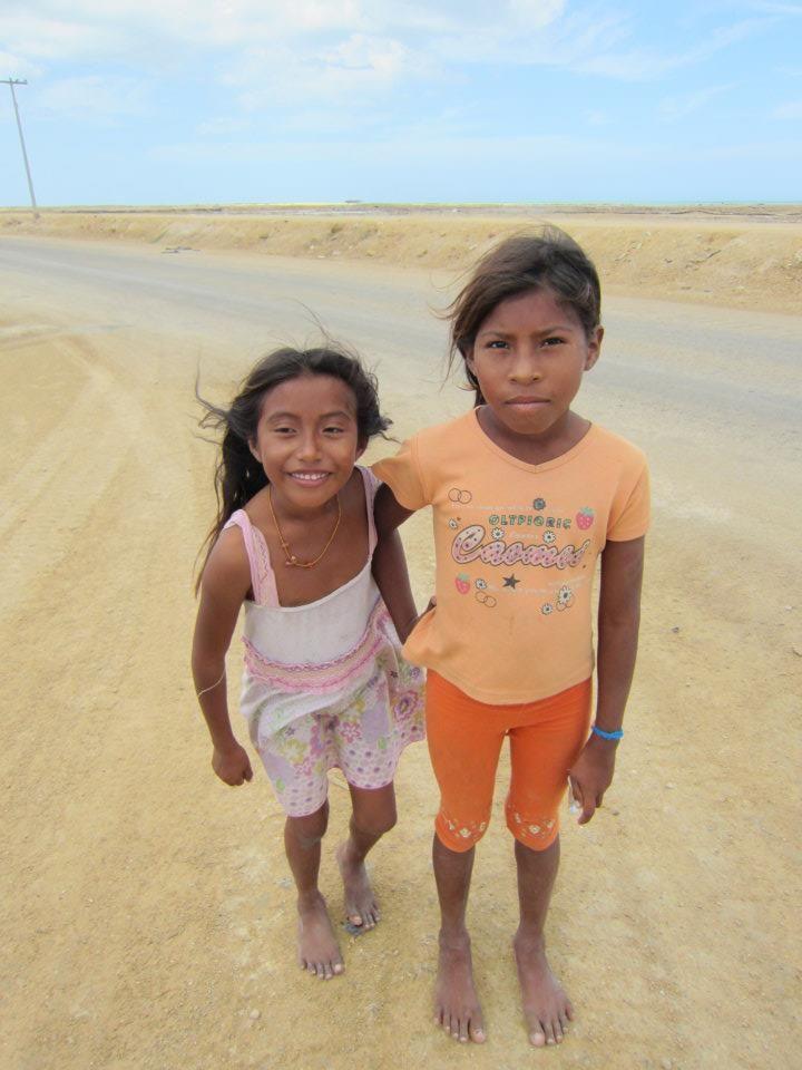 Indigenous Wayuu kids