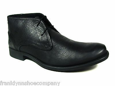 Hush Puppies Bruno Size 13 M Mens Shoe Black Leather Chukka Boots Chukka Boots Leather Chukka Boots Boots